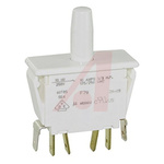 Door Interlock Micro Switch Plunger, DPDT 10 A Thermoplastic Polyester, -40 → +85°C