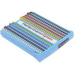 HellermannTyton Slide On Cable Marking Kit Helagrip, 2 → 5mm, 600 Markers