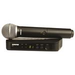 Shure Hand Held Wireless Microphone BLX24UK/PG58