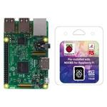 Raspberry Pi 3 B with 16GB NOOBS Card Bundle