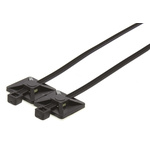 HellermannTyton Nylon T Series, Black Nylon 66 Cable Tie Assemblies150mm x 3.5mm