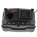 Bosch GAX 18V-30 Battery Pack Charger, 12 V, 18 V for use with Bosch Cordless Power Tools, UK Plug