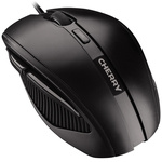 Cherry MC 3000 5 Button Wired Optical Mouse Black