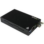 Startech 10/100/1000Mbit/s LC, RJ45 Single Mode Media Converter Half/Full Duplex 10km