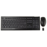 CHERRY Keyboard and Mouse Set Wireless QWERTY Black