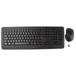 CHERRY Keyboard and Mouse Set Wireless QWERTZ Black