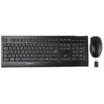 CHERRY Keyboard and Mouse Set Wireless AZERTY Black