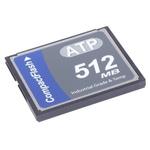 ATP CompactFlash Industrial 512 MB SLC Compact Flash Card