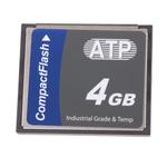 ATP CompactFlash Industrial 4 GB SLC Compact Flash Card