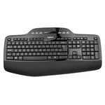 Logitech Keyboard and Mouse Set Wireless QWERTY Black (Keyboard), Black/Grey (Mouse)