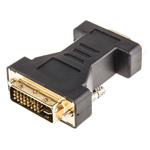 RS PRO DVI-I Male to D-sub, 15-Pin (VGA) Female Network Adapter
