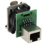 Neutrik RJ45 Female to RJ45 Female Network Adapter