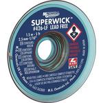 Super Wick 1.5m Lead Free No Clean Desoldering Braid, Width 2.5mm
