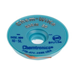 Chemtronics 1.5m Desoldering Braid, Width 2.5mm