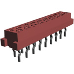 TE Connectivity, Micro-MaTch 1.27mm Pitch 18 Way 2 Row Straight PCB Socket, Through Hole, Solder Termination