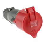 Legrand 32A Red Plastic Industrial Power Socket, IP44