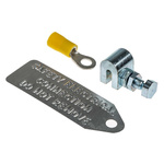 RS PRO Earth Clamp Metal, 2.5 → 6mm² Wire Range
