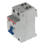 ABB 2 Pole Type AC Residual Current Circuit Breaker, 63A F200, 30mA