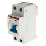 ABB 2 Pole Type AC Residual Current Circuit Breaker, 40A F200, 300mA