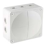 WISKA Combi Junction Box, IP66, IP67, 160mm x 140mm x 81mm