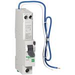 Schneider Electric 1+N Pole Type AB RCBO, 40A EZ9, 6 kA