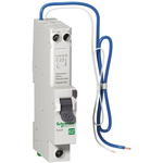 Schneider Electric 1+N Pole Type AB RCBO, 50A EZ9, 6 kA