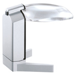 Eschenbach Scribolux LED Magnifying Lamp with Pedestal, 7dioptre, 100 x 75mm Lens