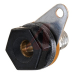 Cinch Connectors 15A, Black 4 mm Test Terminal With Brass Contacts and Nickel Plated