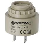 Werma 90dB, Panel Mount Continuous Internal Piezo Buzzer