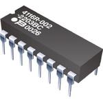 Bourns Bussed Resistor Network 1kΩ ±2% 7 Resistors, 2W Total, DIP package 4100R Through Hole