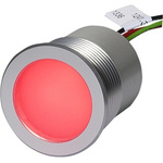 Schurter Green, Red, Yellow Wall Switch, Lead Wires Termination, 5 → 28 V dc, 30.1mm Mounting Hole Size