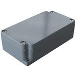 Rose Aluminium Standard, Grey Die Cast Aluminium Enclosure, IP66, 115 x 64 x 34mm Lloyds Register, Maritime Register,