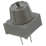 200kΩ, Through Hole Trimmer Potentiometer 0.5W Finger Adjust BI Technologies, 72PT