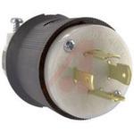 Electrical Plug; 20 A; 480 VAC; 0.35 to 1.15 in.; Nylon; Nylon; Steel; Brass