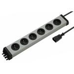 Bodo Ehmann 1.5m 6 Socket Type E - French Extension Lead, 250 V