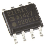 ADUM1201CRZ-RL7 Analog Devices, 2-Channel Digital Isolator 25Mbit/s, 2500 Vrms, 8-Pin SOIC