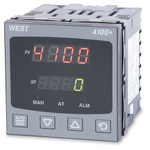 West Instruments P4100 PID Temperature Controller, 96 x 96 (1/4 DIN)mm, 1 Output Linear, 24 → 48 V ac/dc Supply