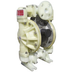 Tecnomatic Diaphragm Air Operated Positive Displacement Pump, 132L/min