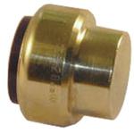 Pegler Yorkshire Brass Push Fit Fitting 22mm