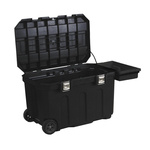 Stanley 2 drawer Plastic WheeledContractor Chest, 946mm x 578mm x 578mm