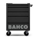 Bahco 5 drawer Solid Steel WheeledTool Chest, 965mm x 693mm x 510mm