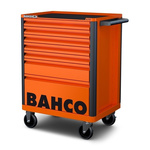 Bahco 8 drawer Solid Steel WheeledTool Chest, 965mm x 693mm x 510mm