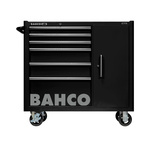 Bahco 6 drawer Stainless Steel WheeledTool Chest, 985mm x 1016mm x 501mm