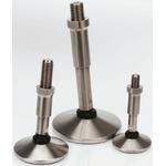 8888 Adjustable Feet A089/004 M16 92mm, 75mm Dia. Steel, Stainless Steel 1750kg Static Load Capacity 10° Tilt Angle