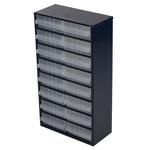 Raaco 16 drawer Steel, 552mm x 150mm x 306mm