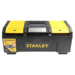 Stanley One Touch 2 drawers  Plastic Tool Box, 394 x 220 x 162mm