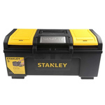 Stanley One Touch 2 drawers  Plastic Tool Box, 486 x 266 x 236mm