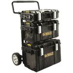 DeWALT Tough System Full Set Plastic Tool Box, 955 x 235 x 681mm