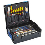 Gedore 58 Piece Engineers Tool Kit with Case, VDE Approved
