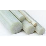 Tufnol Natural Glass Fibre Laminated Plastic, 1.17m x 16mm diameter